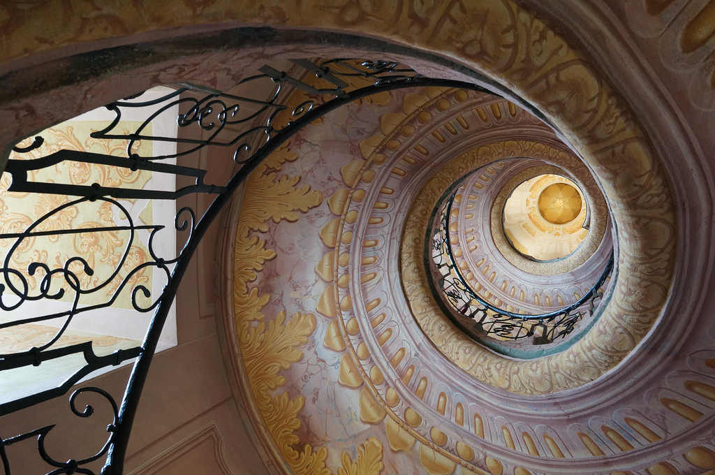 Melk Abbey staircase in Austria